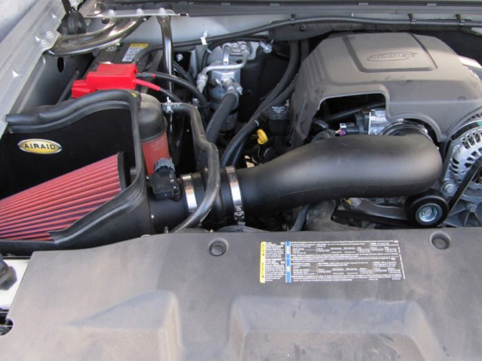 AIRAID Cold Air Intake Kit Chevrolet Truck & SUV 2009-12 SynthaFlow