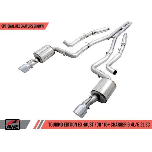 AWE Touring Edition Exhaust for 15+ Charger 6.4 / 6.2 SC