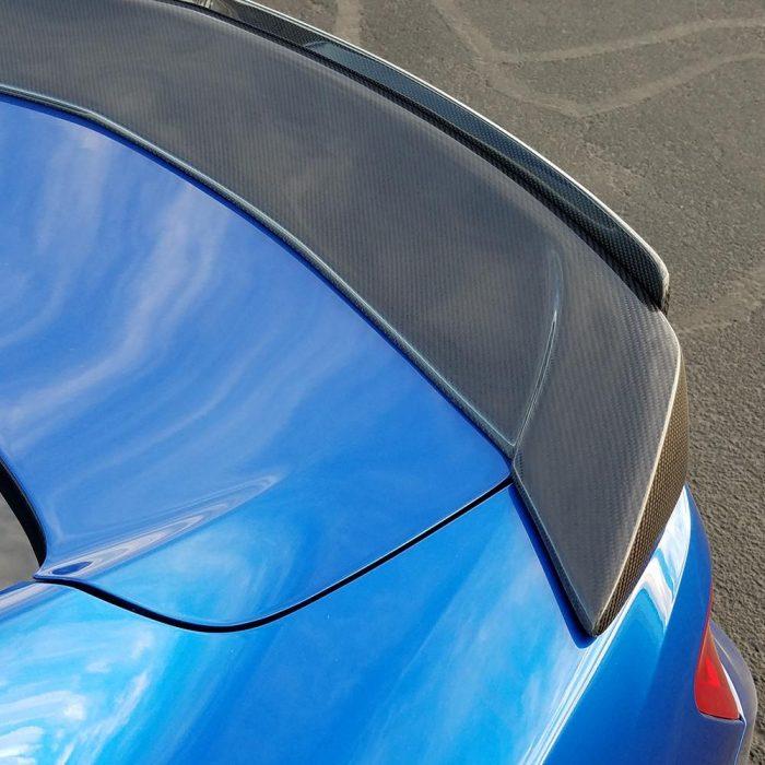 Anderson Composites 2016+ Camaro Carbon Fiber Spoiler w Wicker Bill