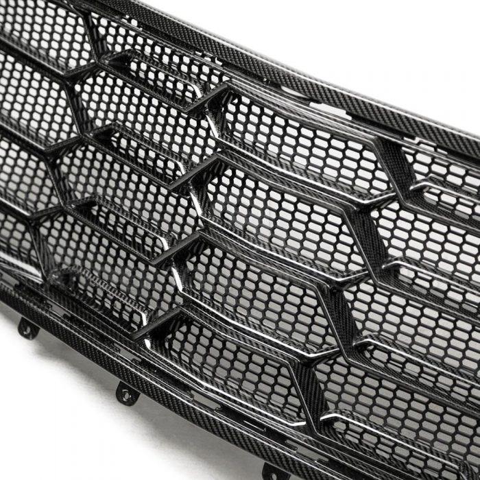 Anderson Composites 2017+ Camaro ZL1 1LE Carbon Fiber Lower Grille