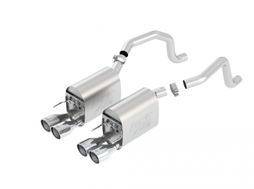 Borla C6 Corvette Axle-Back Exhaust ATAK®