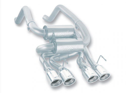 Borla C6 Corvette Axle-Back Exhaust S-Type