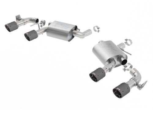 Borla Camaro SS W/ Dual Mode Exh. (NPP) 2016-2018 Axle-Back Exhaust S-Type Carbon Fiber