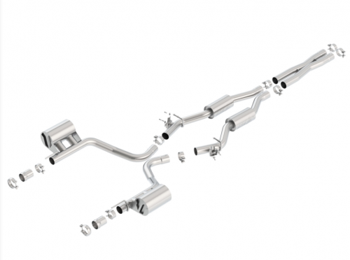 Borla Challenger SRT 392/ Scat Pack 2015-2018 Cat-Back™ Exhaust S-Type