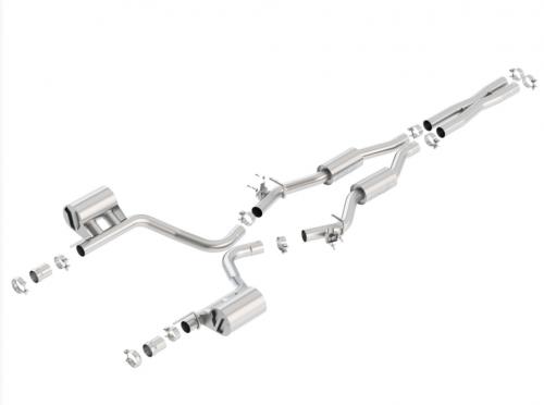Borla Challenger SRT Hellcat 2015-2018 Cat-Back™ Exhaust S-Type