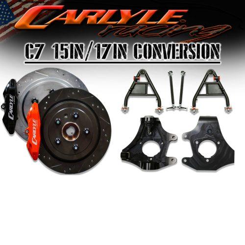 "Carlyle Racing Chevrolet Corvette 2014+ 15"" Pro Brake Kit"