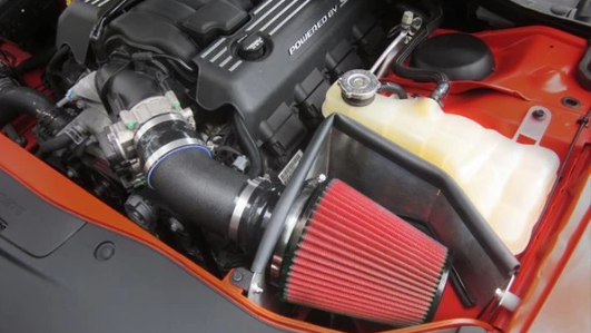 Corsa Dodge Challenger 6.4 2011-17 APEX Series Cold Air Intake (Drytech Filter)