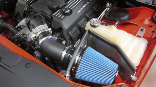 Corsa Dodge Challenger/Charger 6.4 2011-17 APEX Series Cold Air Intake (MaxFlo 5 Filter)