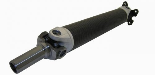 Driveshaft Shop 2004-2006 GTO 3.25'' Carbon Fiber 1-Piece Driveshaft with Strange Billet Yoke and 4340 Billet Rear Pinion Flange