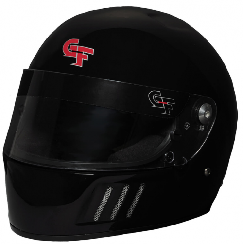 GForce GF3 FULL FACE BLACK HELMET