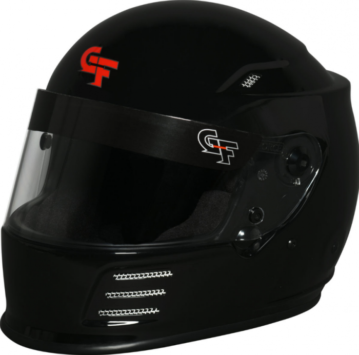 GForce REVO FULL FACE MATTE BLACK HELMET
