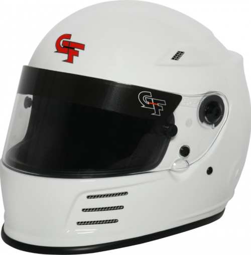 GForce REVO FULL FACE WHITE HELMET