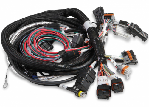 Holley GEN III HEMI MAIN HARNESS , LATE, W/TPS AND IDLE AIR CONTROL CONNECTIONS