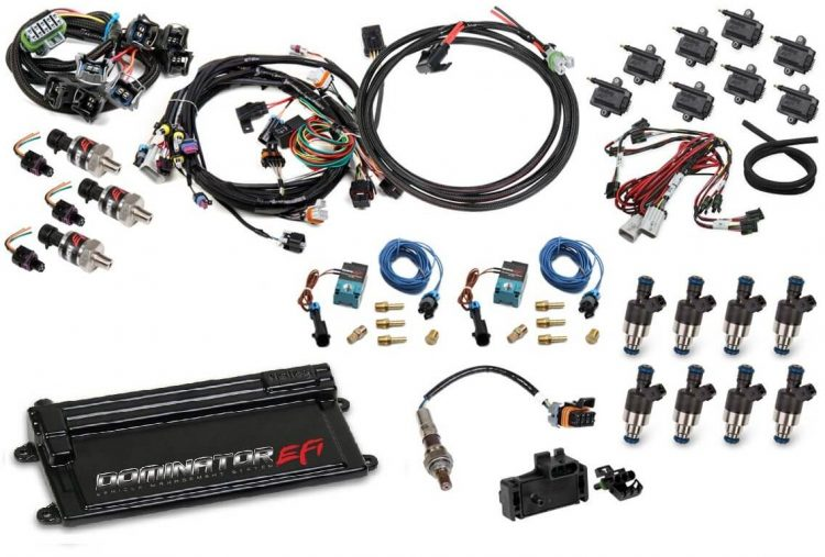 Holley LS1 or LS6 (24X/1X) Dominator EFI Kit