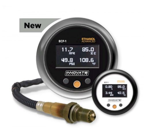 Innovate Motorsports ECF-1 Ethanol Content & Air/Fuel Ratio Gauge