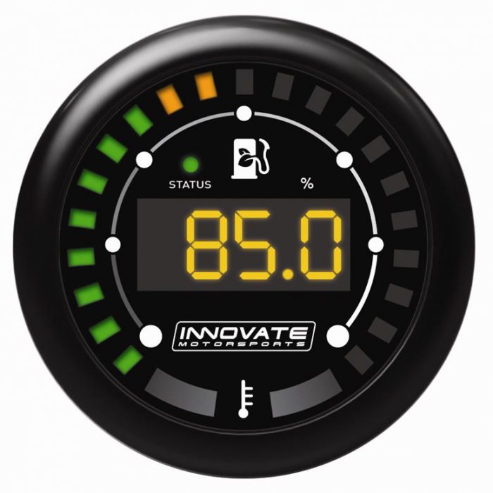 Innovate Motorsports MTX-D Digital Series Ethanol Content/Fuel Temp Gauge