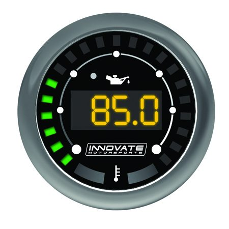 Innovate Motorsports MTX-D Digital Series Oil Pressure/Temperature Gauge