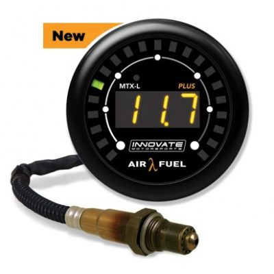 Innovate Motorsports MTX-L PLUS Digital Wideband Air/Fuel Ratio Gauge