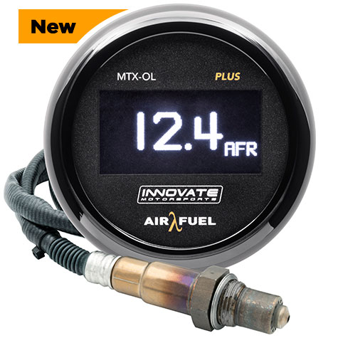 Innovate Motorsports MTX-OL PLUS Digital Wideband Air/Fuel OLED Gauge