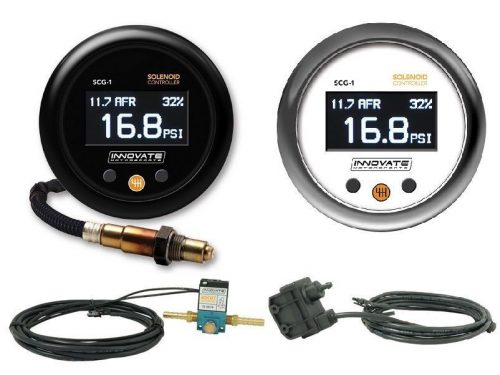 Innovate Motorsports SCG-1: Solenoid Boost Controller & Wideband O2 Gauge