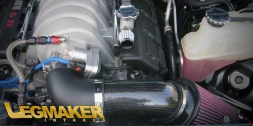 Legmaker Intakes Dodge ChargerChallenger and 300C 200511+ 5.76.1L HEMI FrankenTake IV