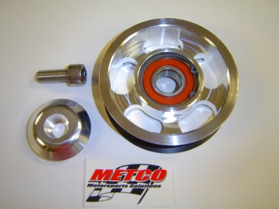 Metco 2009-15 CTS-V/Camaro Tensioner Pulley 87mm Billet