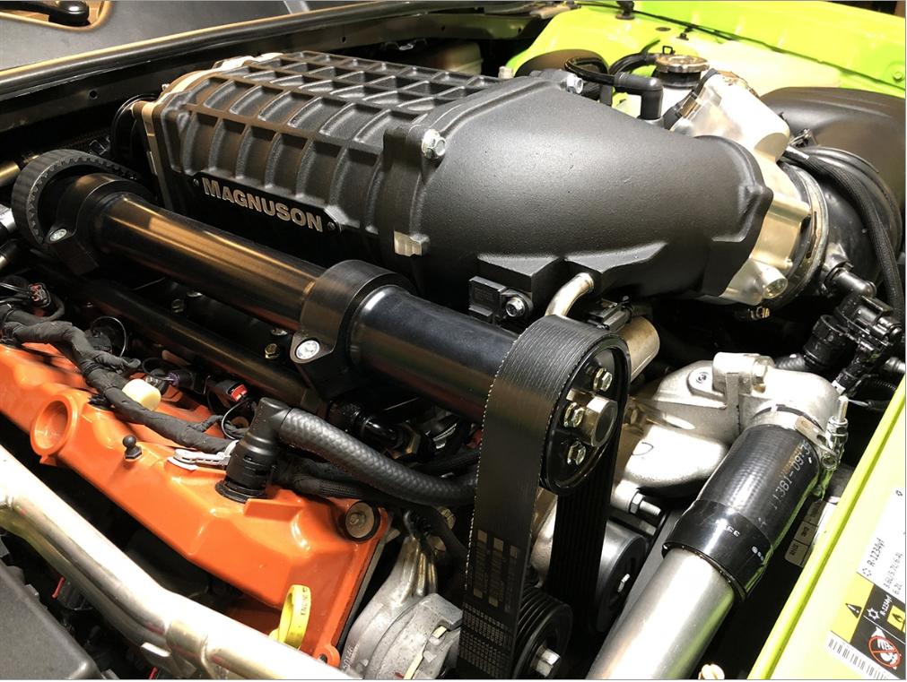 Magnuson Superchargers Hellcat 6 2 HEMI Supercharger System