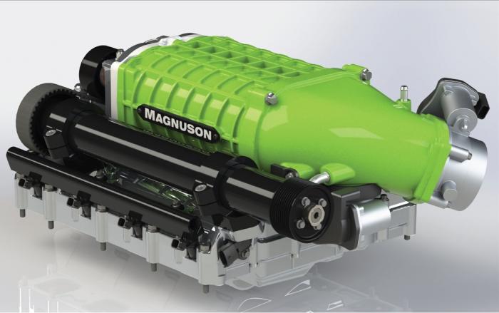 Magnuson Superchargers Hellcat 6.2 HEMI Supercharger System