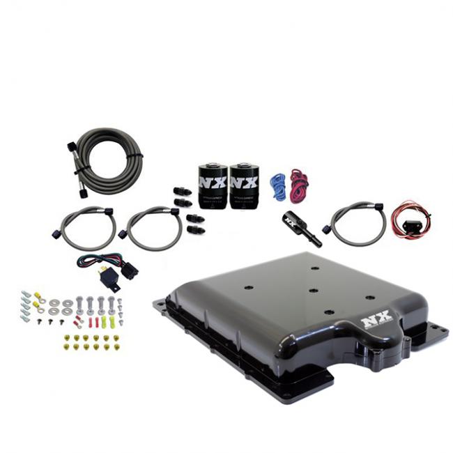 Nitrous Express Dodge 6.2 HEMI Billet Supercharger Lid w/ Integrated Nitrous