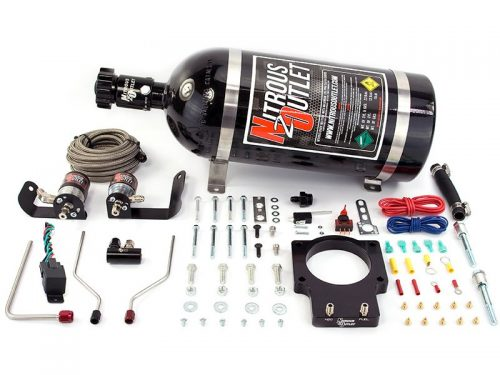 Nitrous Outlet Chevrolet Corvette 1997-04 92mm FAST Plate System