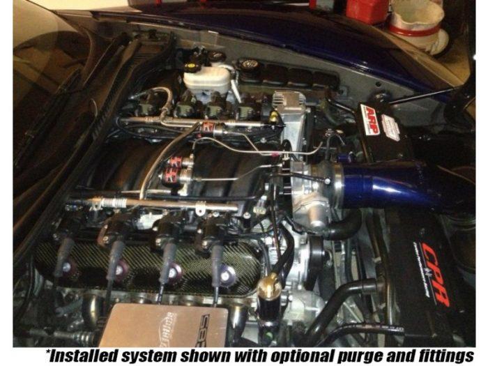 Nitrous Outlet Chevrolet Corvette Z06 2005-13 90mm Plate System