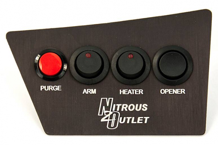 Nitrous Outlet Dodge Challenger 2008-14 Coin Tray Switch Panel