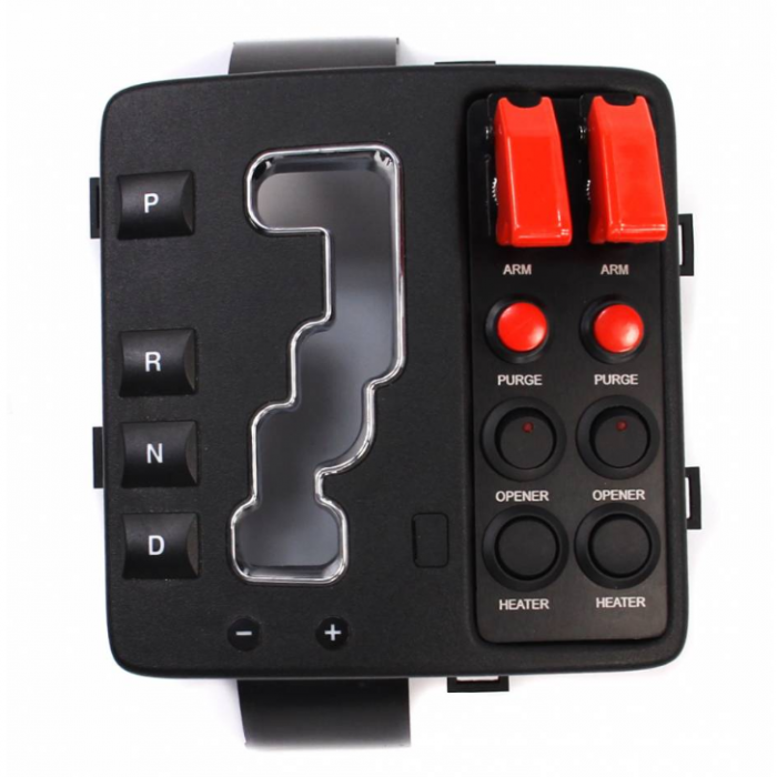 Nitrous Outlet Jeep Grand Cherokee 2006-10 Console Switch Panel