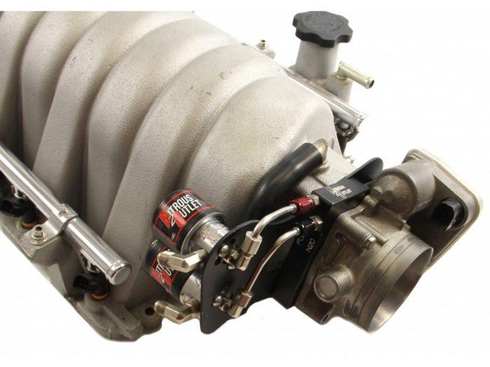 Nitrous Outlet Mopar 80mm 5.7/6.1L HEMI Hardline Plate System