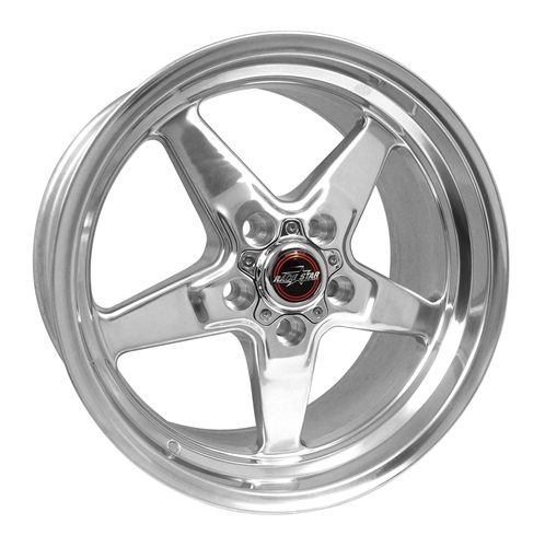Race Star 92 Drag Star Polished 18x5 Hellcat