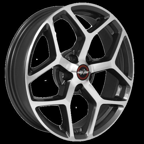 Race Star 95 Recluse Metallic Gray 17x4.5 Dodge