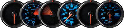 Blue Racer Display