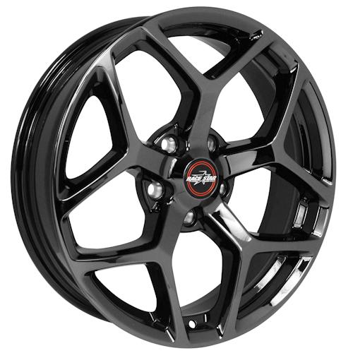 Racestar 95 Recluse Black Chrome 17x4.5 Corvette