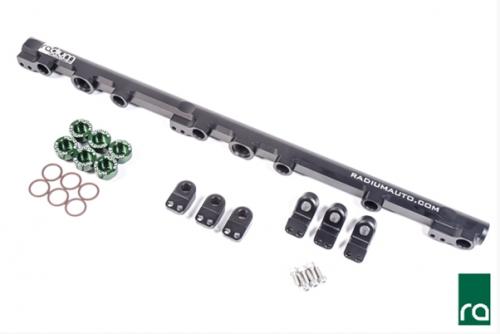 Radium Engineering Toyota 1JZ-GTE Top Feed Fuel Rail Conversion