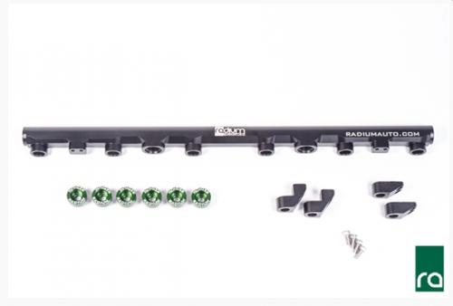 Radium Engineering Toyota 2JZ-GTE Top Feed Fuel Rail Conversion