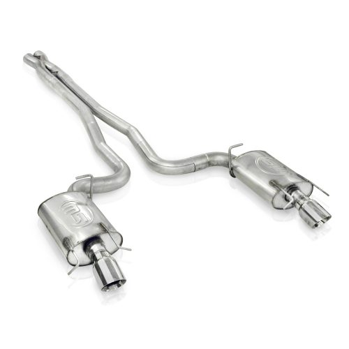 """Stainless Works Cadillac CTS-V 2009-15 3"""" Dual Turbo Chambered Exhaust System"""