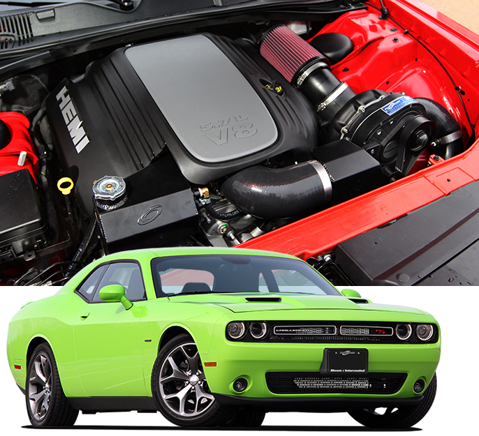 Dodge 5 7 Hemi >> Procharger P Series Dodge Challenger 2015 18 Supercharger Full
