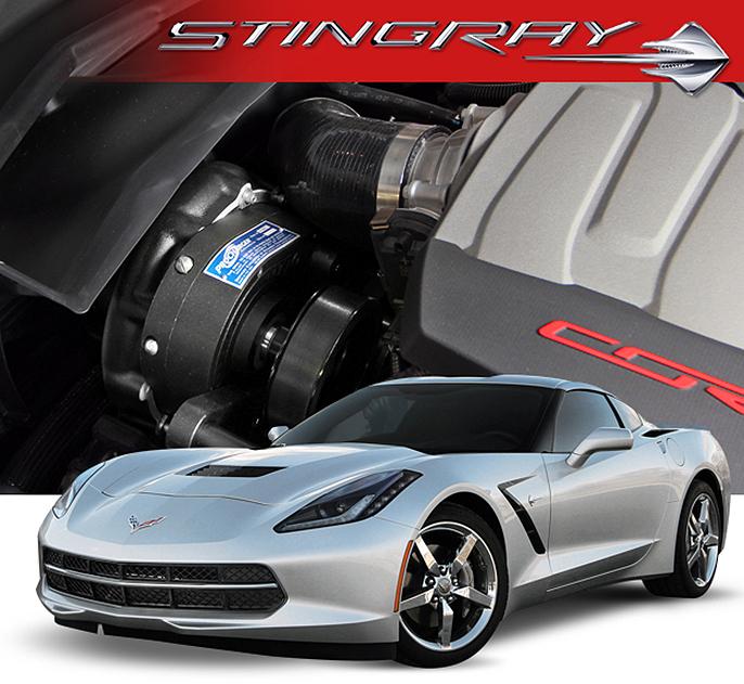 Procharger P Series Chevrolet Corvette Stingray C7 2014-19 Supercharger  Full System Kit (LT1)