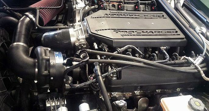 Procharger Chevrolet Corvette C7 Z06 2015-16 (LT4) Supercharger Kit